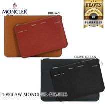 累積売上総額第1位!MONCLER GENIUS★1952★LEATHER POUCH