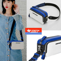 STRETCH ANGELS◆人気 ◆PANINI color block bag (Blue)
