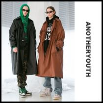 ☆ANOTHERYOUTH☆ レザートレンチコート leather trench coat