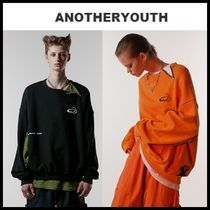ANOTHERYOUTH(アナザーユース) スウェット・トレーナー ☆ANOTHERYOUTH☆   zipper mtm 2色