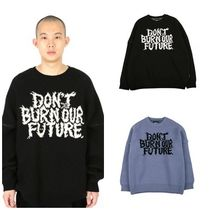 日本未入荷AJOBYAJOのOversized Slogan Wool Knit Sweater 全2色