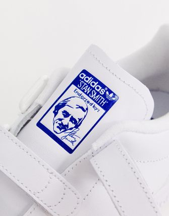 official photos 2d2d9 8e0a8 adidas Originals white and navy Stan Smith CF trainers