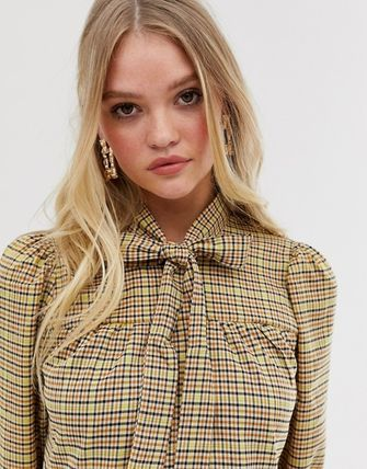 ASOS ワンピース Y.A.S 新作 チェックティアードワンピ  ☆送料込☆(4)