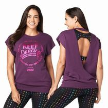 ☆ZUMBA・ズンバ☆Keep Dancing Open Back Top