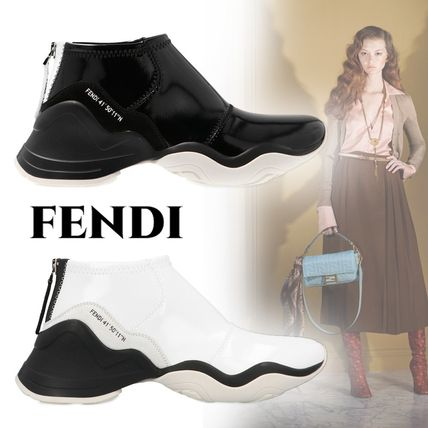 FENDI スニーカー 【FENDI】High tech jaquard sneakers