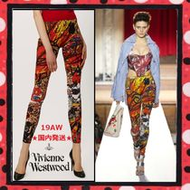 UNISEX/19AW★国内発送 Vivienne Westwood TAPESTRY アートレギンス