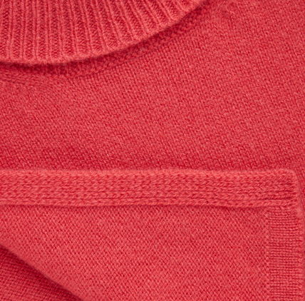 "COS 子供用帽子・手袋・ファッション小物 ""COS KIDS"" ROLL-NECK CASHMERE SCARF VIBRANTRED(2)"
