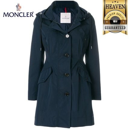 MONCLER アウターその他 累積売上総額第1位!【MONCLER 19/20秋冬】ZIPPED FITTED COAT
