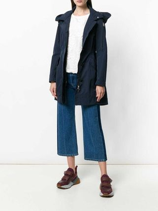 MONCLER アウターその他 累積売上総額第1位!【MONCLER 19/20秋冬】ZIPPED FITTED COAT(2)