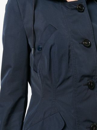 MONCLER アウターその他 累積売上総額第1位!【MONCLER 19/20秋冬】ZIPPED FITTED COAT(5)