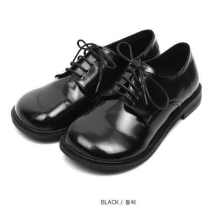 OPEN THE DOOR シューズ・サンダルその他 [OPEN THE DOOR]   rounded wide loafer (2 color) / 追跡付(5)