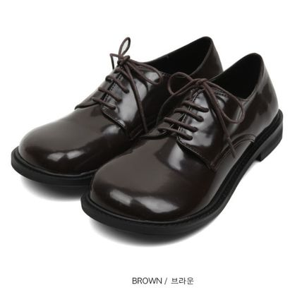 OPEN THE DOOR シューズ・サンダルその他 [OPEN THE DOOR]   rounded wide loafer (2 color) / 追跡付(8)