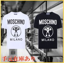 Moschino(モスキーノ) Tシャツ・カットソー MOSCHINO DOUBLE QUESTION ロゴ Tシャツ