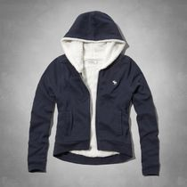 Abercrombie & Fitch(アバクロ) キッズその他 ガールズ ボア付き 気持ちいい! 暖かいsherpa-lined hoodie