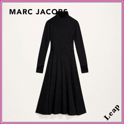 MARC JACOBS ワンピース 【MARC JACOBS】人気 GLITTER-PRINT DRESS★