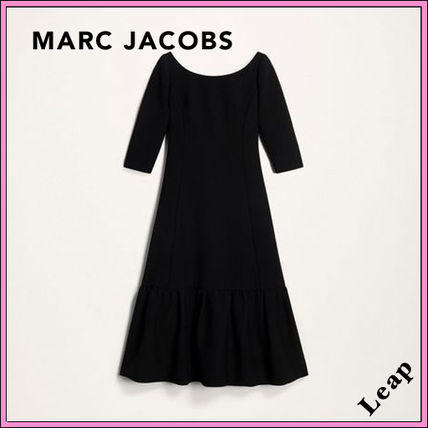 MARC JACOBS ワンピース 【MARC JACOBS】人気 WOOL CREPE DRESS★