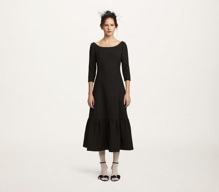MARC JACOBS ワンピース 【MARC JACOBS】人気 WOOL CREPE DRESS★(2)