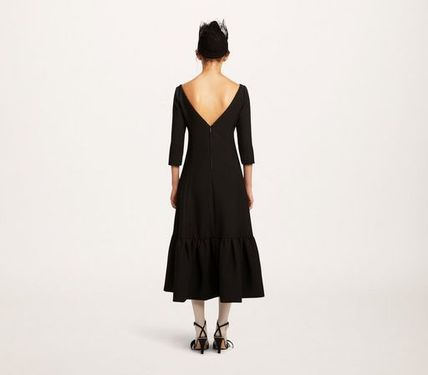 MARC JACOBS ワンピース 【MARC JACOBS】人気 WOOL CREPE DRESS★(4)