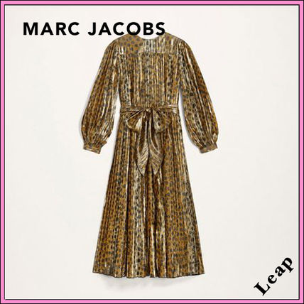 MARC JACOBS ワンピース 【MARC JACOBS】人気 PLEATED LAME DRESS★