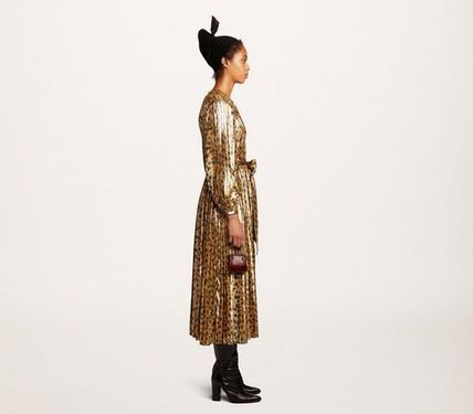 MARC JACOBS ワンピース 【MARC JACOBS】人気 PLEATED LAME DRESS★(2)