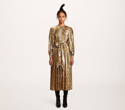 MARC JACOBS ワンピース 【MARC JACOBS】人気 PLEATED LAME DRESS★(3)