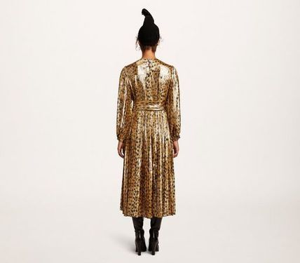 MARC JACOBS ワンピース 【MARC JACOBS】人気 PLEATED LAME DRESS★(4)