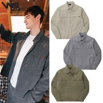 WV PROJECT★WORK PIGMENT LONG SLEEVE SHIRT - MJLS7317 4色
