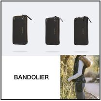 【BANDOLIER】★Pebble Leather Expanded ジップポーチ★
