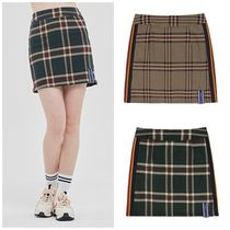 日本未入荷ROMANTIC CROWNのOLD CHECK SKIRT 全2色