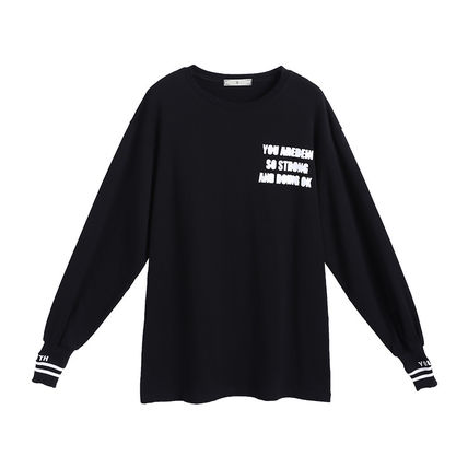 Tシャツ・カットソー トップス Tシャツ カットソー スポーティ 着回し 英字ロゴ(7)