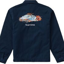 Supreme Cop Car Embroidered Work Jacket AW 19 FW 19 WEEK 2