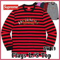 Supreme Flags L/S Top フラッグ エル/エス トップ AW 19 WEEK 2