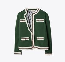 Tory Burch KENDRA FRINGED CARDIGAN