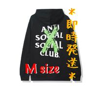 *Anti Social Social Club Logo Hoodie Black (M)