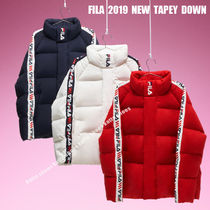 FILA★2019 NEW TAPEY DOWN★ロゴ★兼用★3色