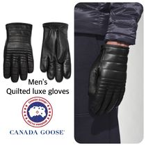 CANADA GOOSE カナダグース  QUILTED LUXE GLOVES メンズ 手袋