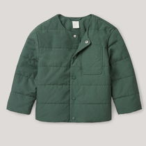 """COS(コス) キッズアウター """"COS KIDS"""" QUILTED COTTON JACKET FORESTGREEN"""