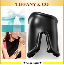 TIFFANY★Black Large Bone Cuff***左手用***Elsa Peretti