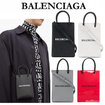 【雑誌掲載】最新作★BALENCIAGA★SHOPPING PHONE HOLDER★BAG