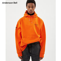 ANDERSSON BELL(アンダースンベル) パーカー・フーディ ANDERSSON BELL正規品★19AW★フルネームロゴ刺繍パーカー