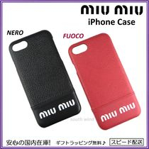 国内発 MiuMiu MADRAS CITY iPhone 7 / 8 ケース 5ZH035 ギフト