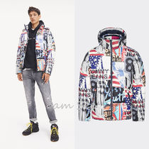 【TOMMY JEANS】ALL OVER ウィンタージャケット