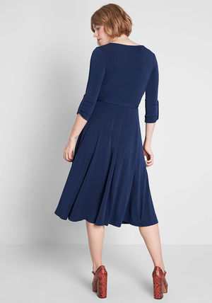modcloth ワンピース 国内送料無料♪Say Yes to Timeless Dress*ミディアムワンピース(3)