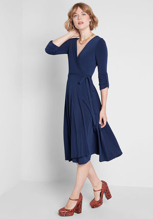 modcloth ワンピース 国内送料無料♪Say Yes to Timeless Dress*ミディアムワンピース(5)