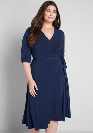 modcloth ワンピース 国内送料無料♪Say Yes to Timeless Dress*ミディアムワンピース(6)