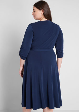modcloth ワンピース 国内送料無料♪Say Yes to Timeless Dress*ミディアムワンピース(7)