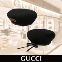 GUCCI Children's wool beret with GG