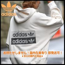 国内発送・正規品★adidas Originals★MEN'S DOUBLE LOGO HOODIE