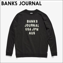 BANKS JOURNAL【国内到着済】 スウェット HEMISPHERE FLEECE