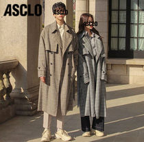 ASCLO  OVERFIT GT CHECKED COAT s626